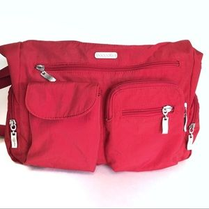 BAGGALLINI Crossbody Multi-pocket Travel Purse EUC